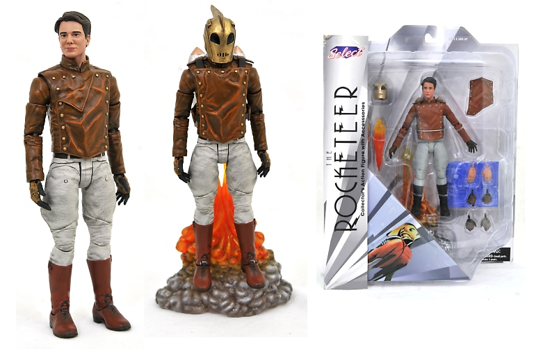 Rocketeer Action Figure Disney Classic Series