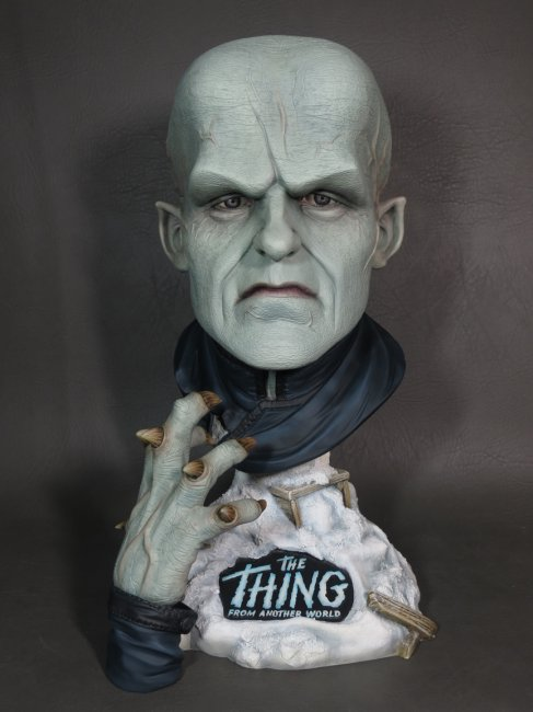 Thing From Another World 16 Inch 1/2 Scale Big Head Bust Model Kit