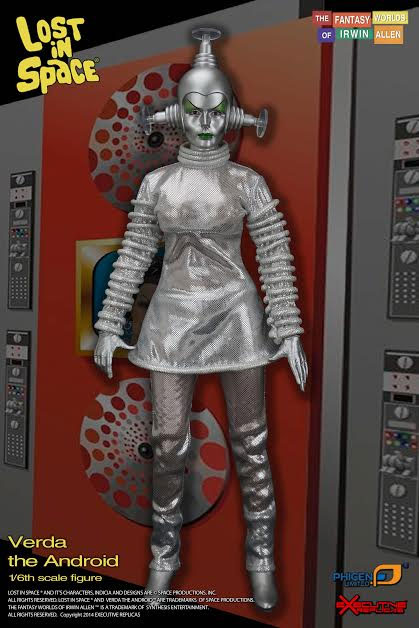 Lost In Space Verda The Android 1/6 Scale Figure LIMITED EDITION by Executive Replicas