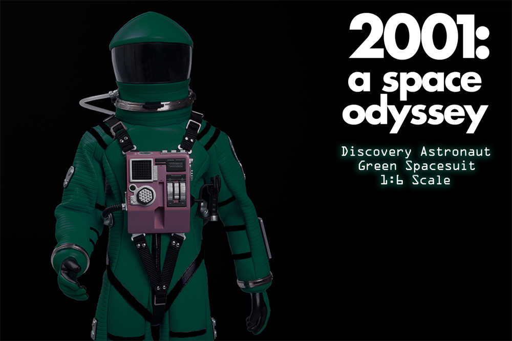 2001: A Space Odyssey Green Discovery Astronaut 1/6 Scale Figure Spacesuit