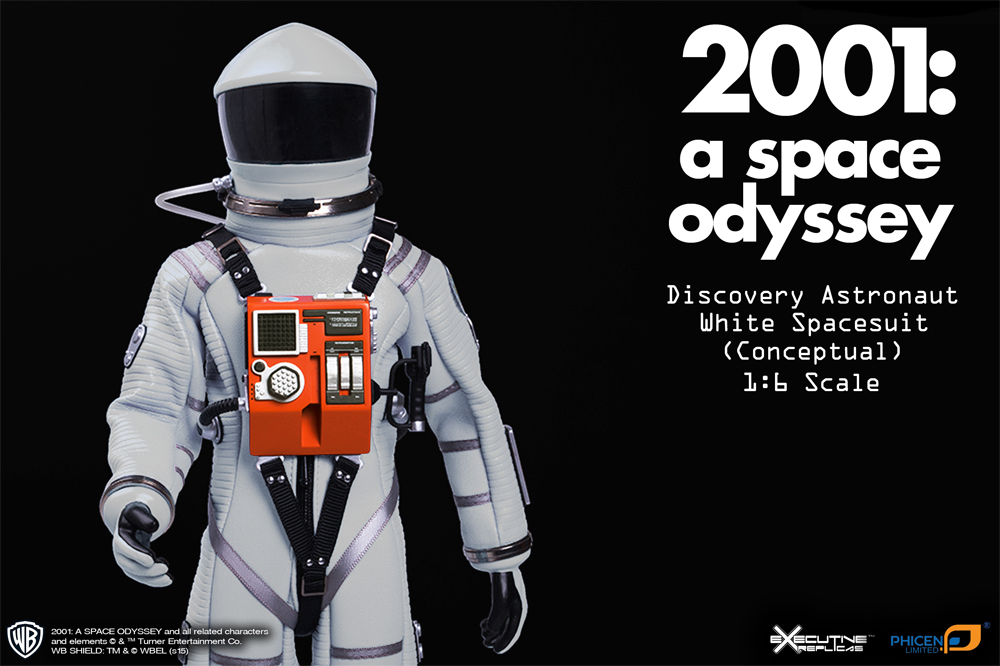 2001: A Space Odyssey White Discovery Astronaut 1/6 Scale Figure Spacesuit