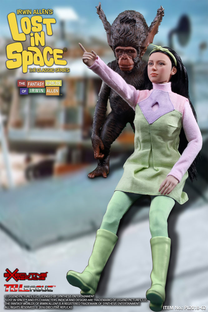Lost In Space Penny and Bloop 1/6 Scale Figure Set by Executive Replicas