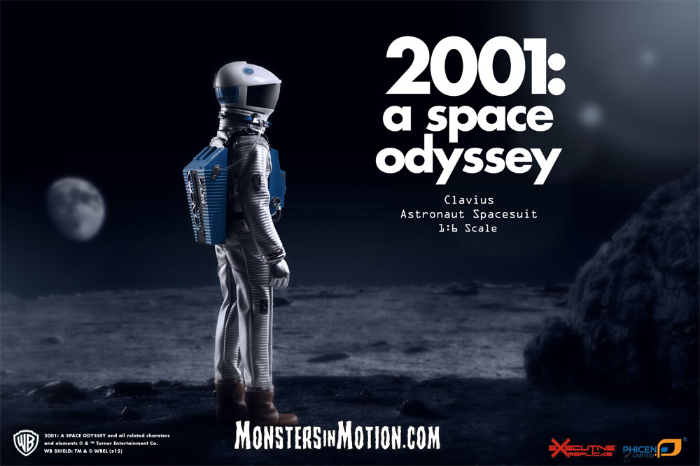 2001: A Space Odyssey Clavius Astronaut 1/6 Scale Spacesuit LIMITED EDITION