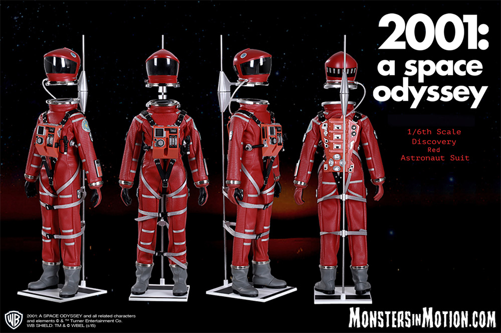 2001: A Space Odyssey 1/6 Scale Red Astronaut Space Suit Replica LIMITED EDITION