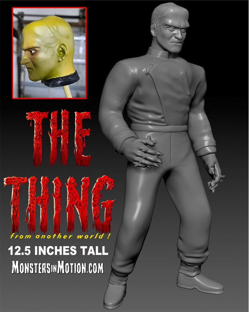 Thing From Another World Vinyl Figure by Hop Toys