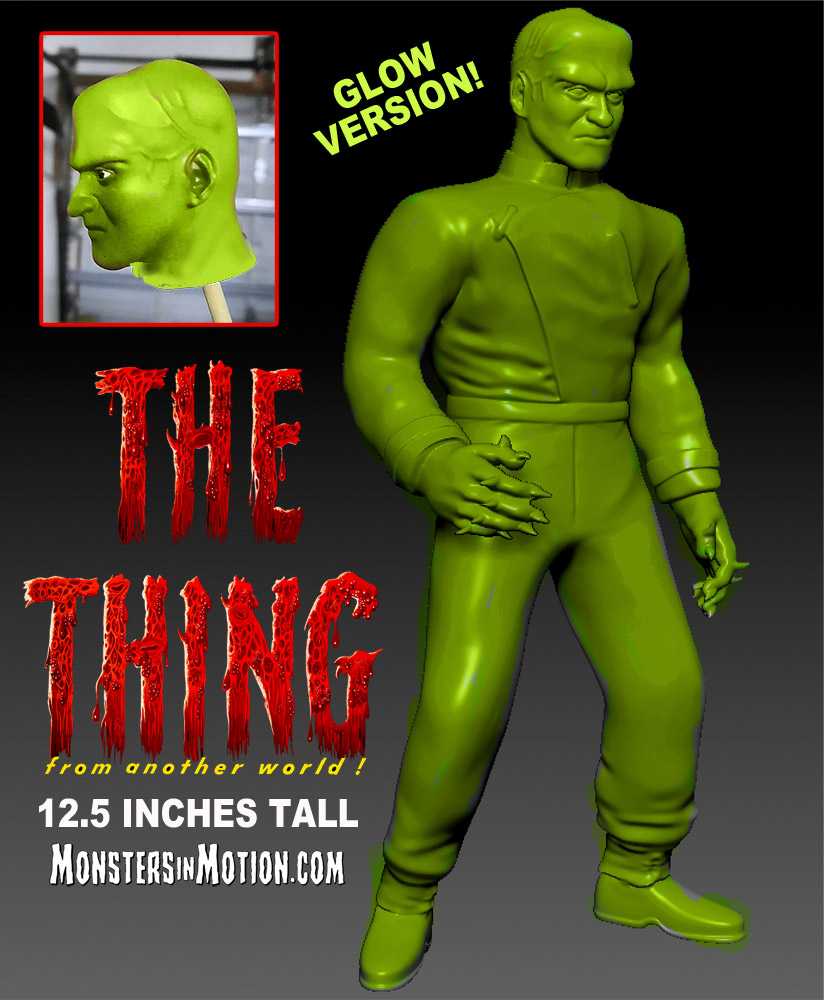 Thing From Another World GLOW VERSION Vinyl Figure by Hop Toys