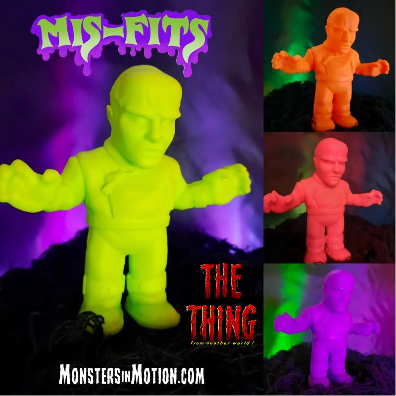 "Thing From Another World Mis-Fits 4"" Vinyl Figure by Hop Toys"