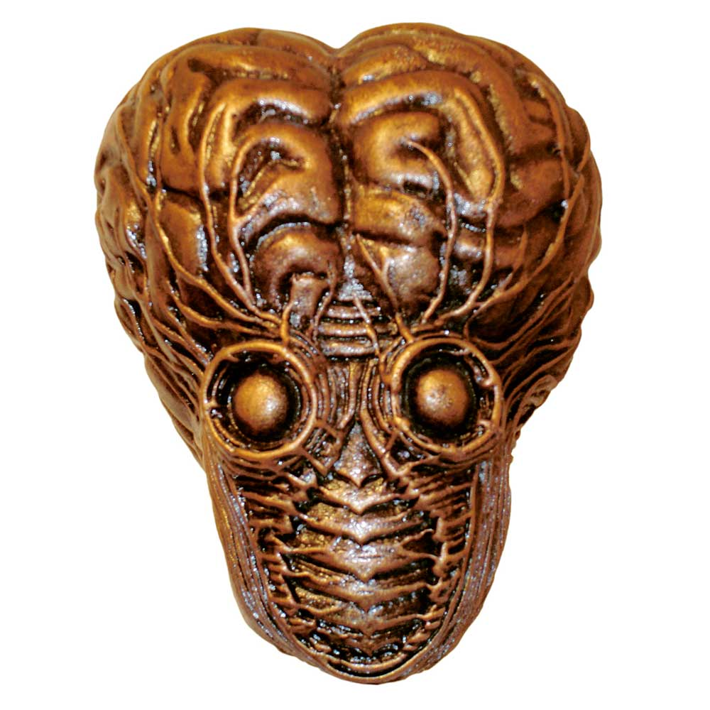 This Island Earth Metaluna Mutant Shifter Knob Model Kit