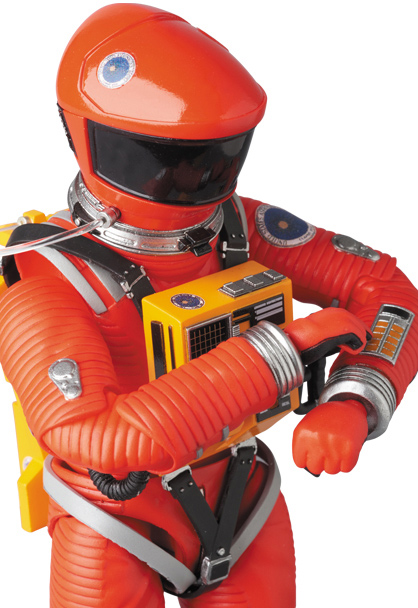 2001: A Space Odyssey Astronaut Space Suite Orange Version MAFEX No.034 Dr. Dave Bowman by Medicom Japan