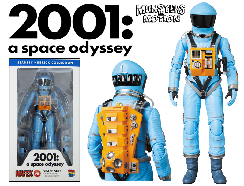 2001: A Space Odyssey Astronaut Space Suite Blue Version MAFEX No.090 by Medicom Japan