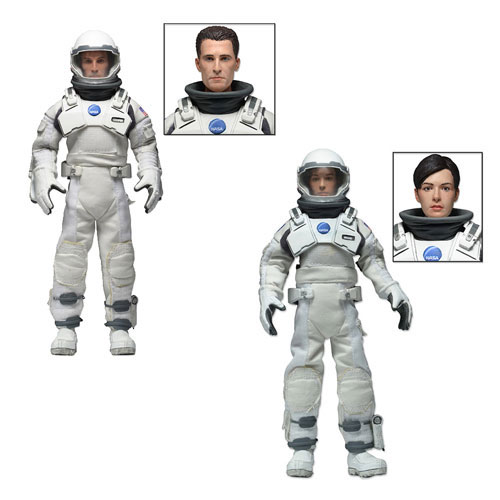Interstellar 8-Inch Retro Mego Style Action Figure 2-Pack