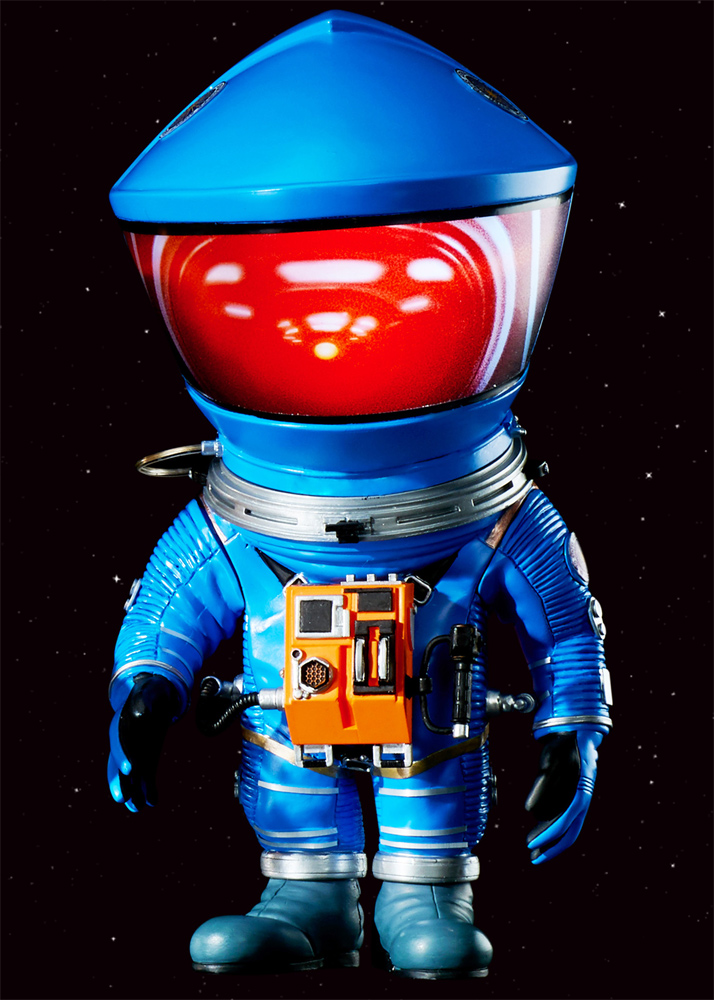 "2001: A Space Odyssey Defo-Real Blue Discovery Astronaut 6"" Figure by Star Ace"
