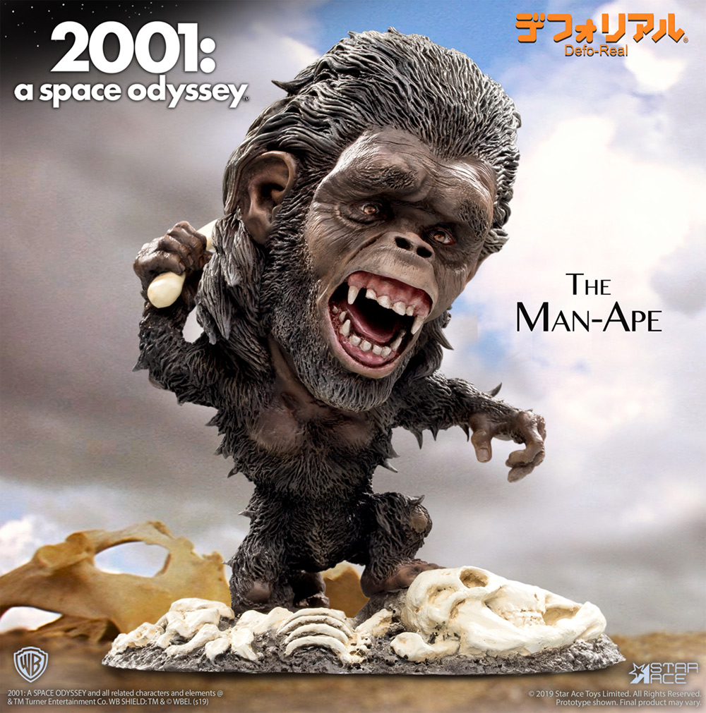 2001:A Space Odyssey Man-Ape Defo-Real Figure Diorama by Star Ace