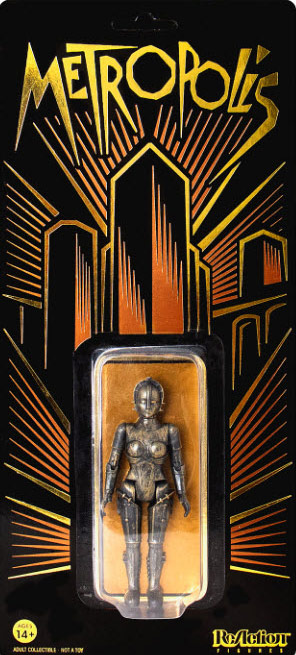 "Metropolis 1927 Maria 3.75"" ReAction Figure LIMITED EDITION"