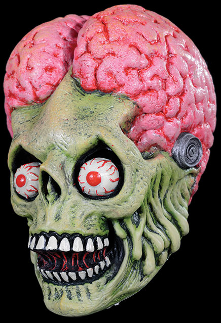 Mars Attacks Drone Martian Latex Halloween Mask