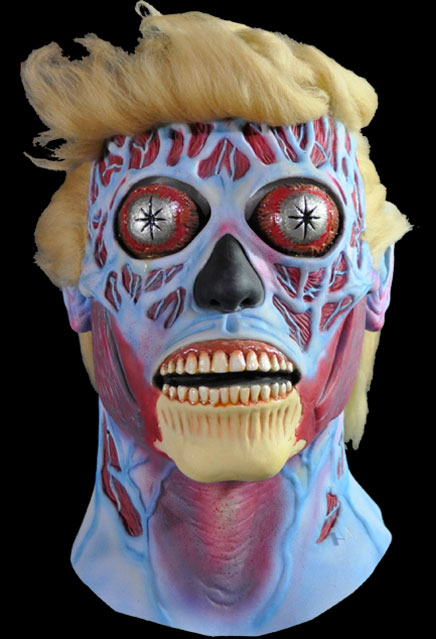 They Live Alien Donald Trump Limited Edition Latex Mask