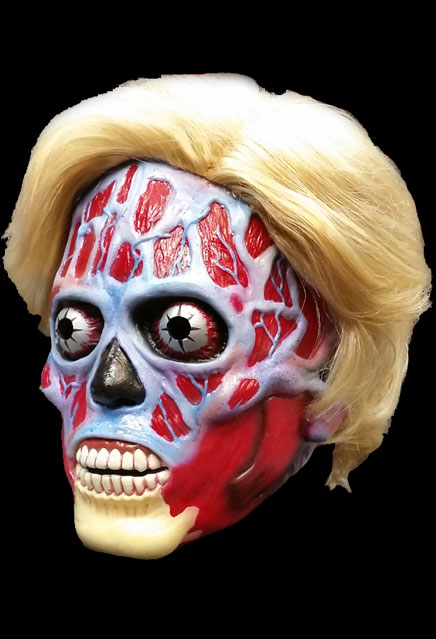 They Live Alien Hillary Clinton Limited Edition Latex Mask