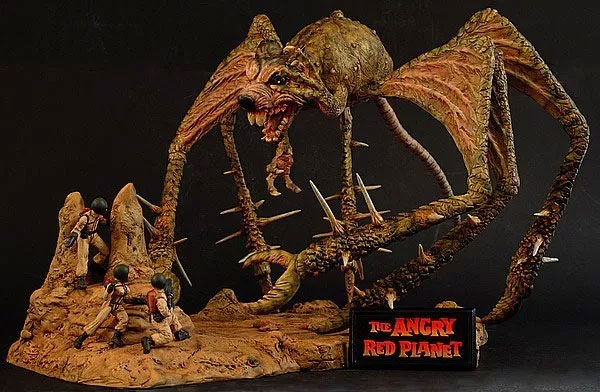 Angry Red Planet Batrat DELUXE Diorama Model Kit