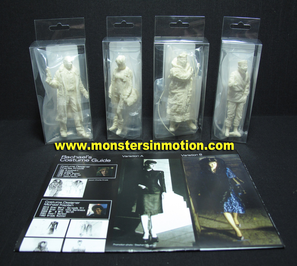 Blade Runner LA 2019 1/18 Scale Figure Set #3 Model Kit