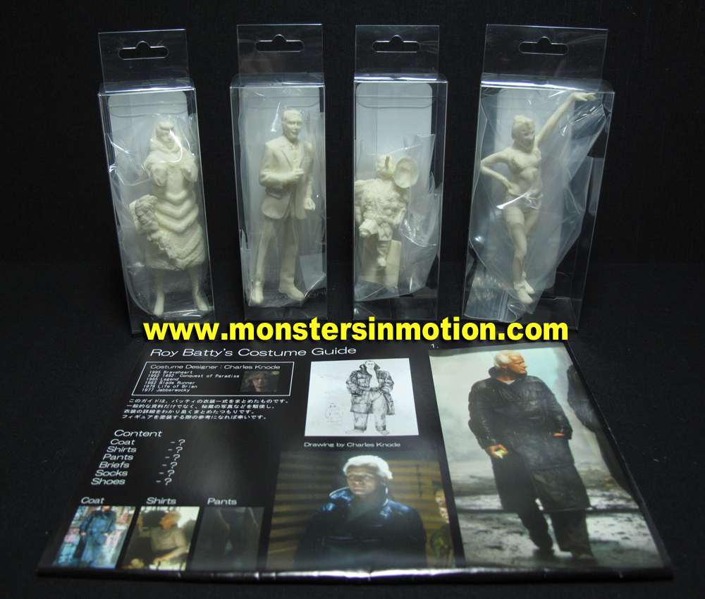 Blade Runner LA 2019 1/18 Scale Figure Set #4 Model Kit