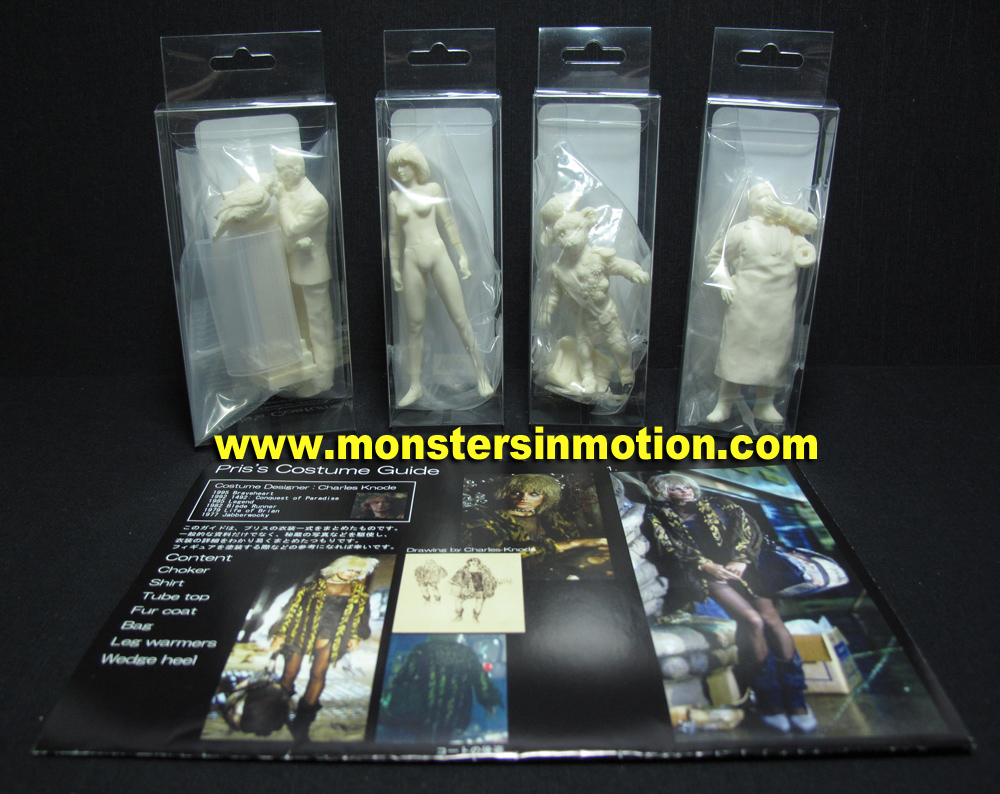 Blade Runner LA 2019 1/18 Scale Figure Set #5 Model Kit
