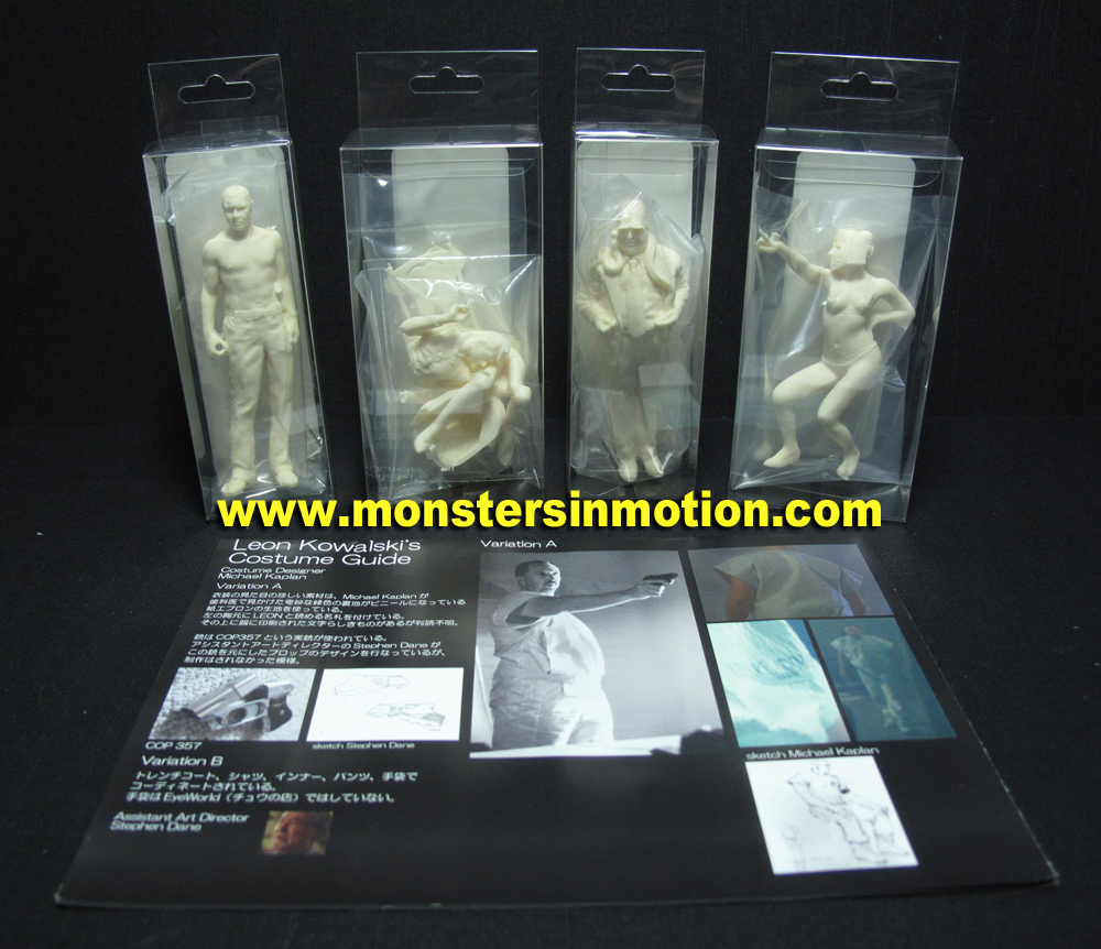 Blade Runner LA 2019 1/18 Scale Figure Set #6 Model Kit