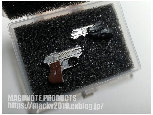 Blade Runner Leon's Gun 1/6 Scale Metal Replica Set of 2 Japan Import