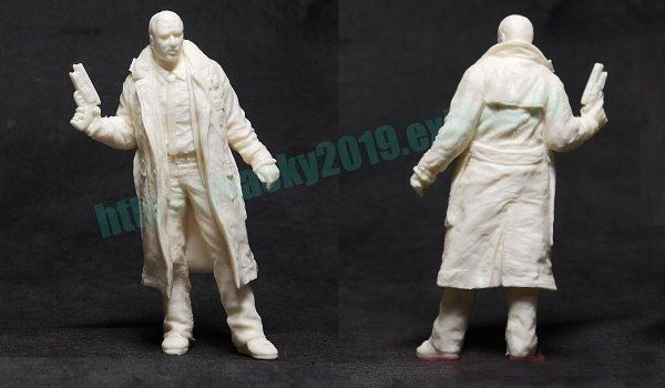 Blade Runner LA 2019 1/22 Scale Officer Dekkard Model Kit