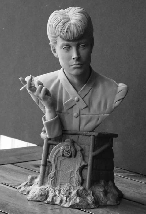 Blade Runner Rachael 1/4 Scale Bust by Jeff Yagher