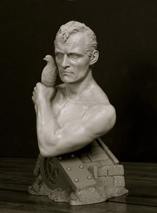 Blade Runner Roy Batty 1/4 Scale Bust by Jeff Yagher