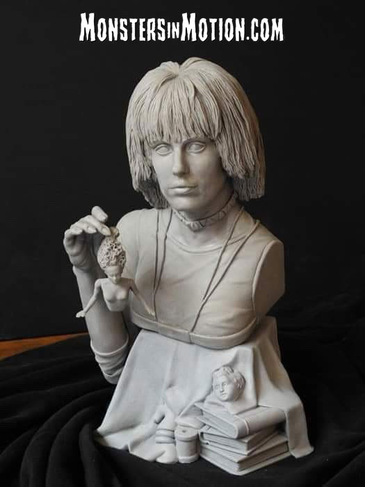 Blade Runner Pris 1/4 Scale Bust Model Kit by Jeff Yagher