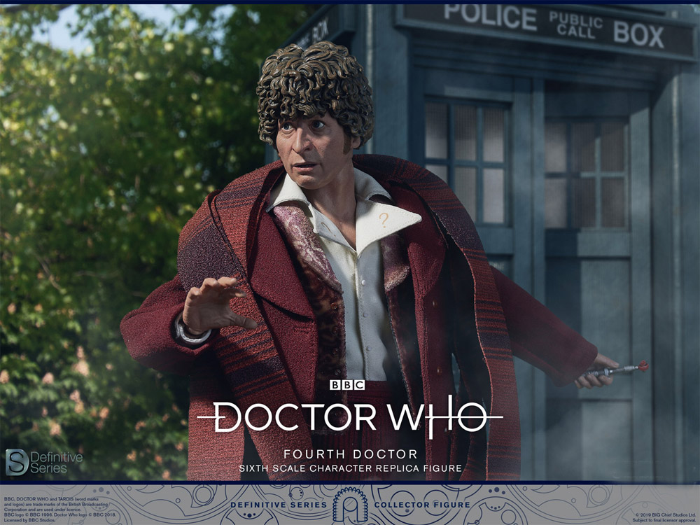 Doctor Who 4th Doctor Tom Baker 1/6 Scale Figure by Big Chief UK IMPORT
