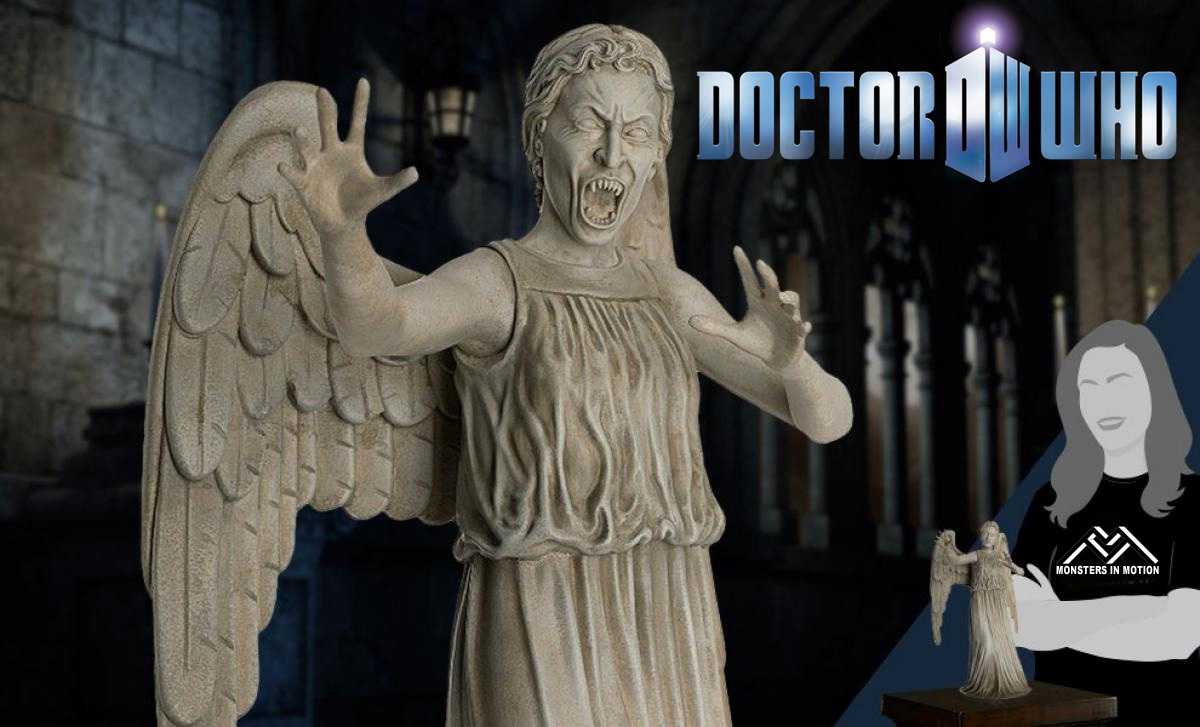 Doctor Who Weeping Angel 1/6 Scale Mega-Figure by Eaglemoss