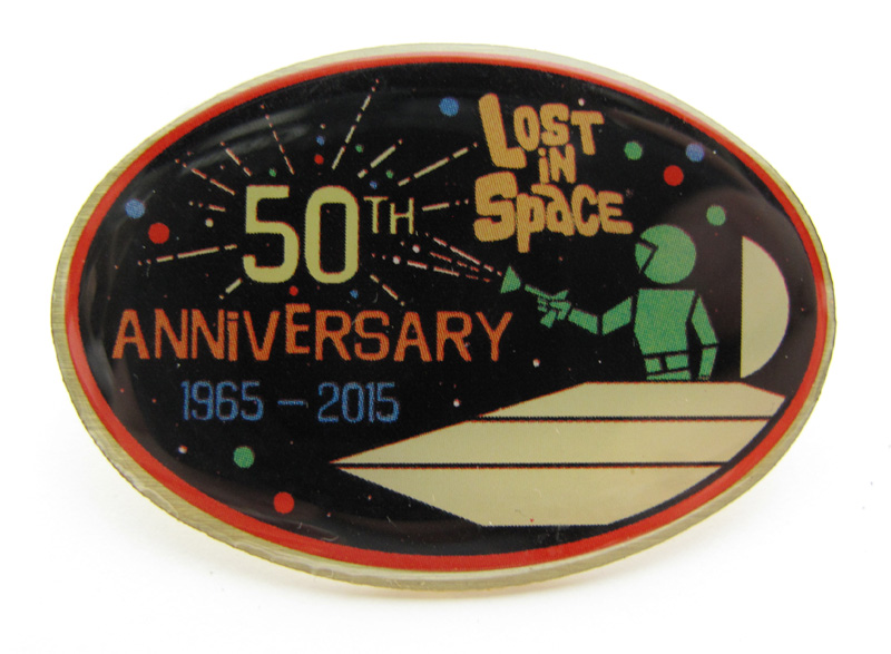 Lost In Space 50th Anniversary Collector's Enamel Pin