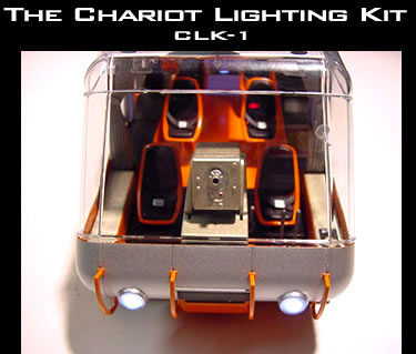 Lost In Space Chariot 1/24 Scale Lighting Kit for Moebius