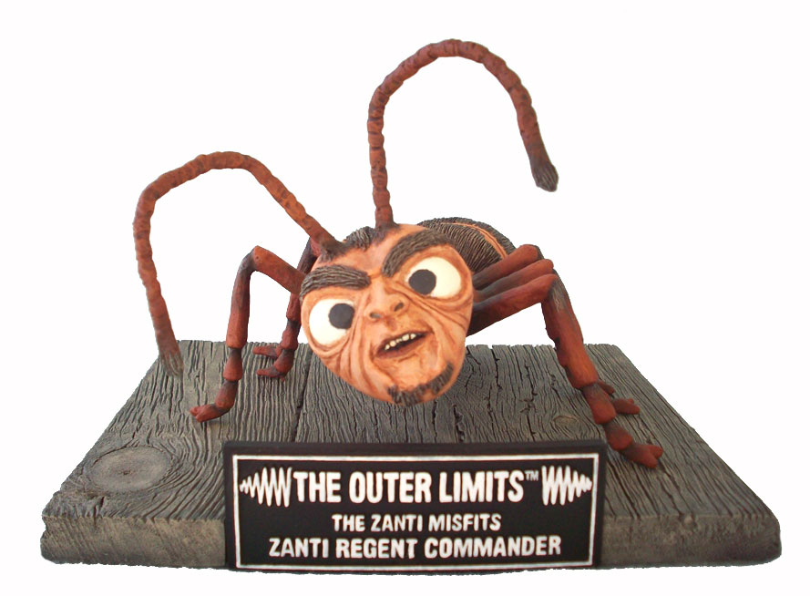 "Outer Limits Zanti Commander Model Kit ""Zanti Misfits"""