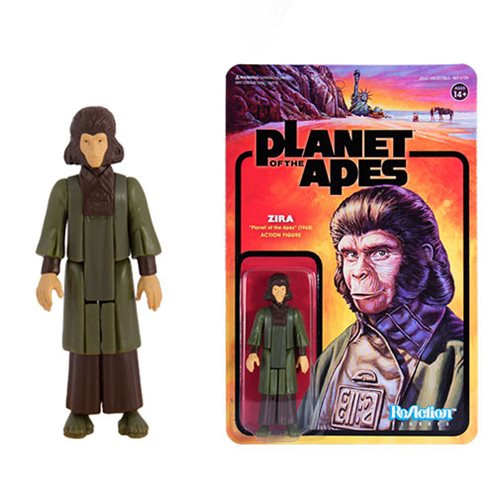 "Planet of the Apes Series 1 Zira ReAction 3.75"" Figure"
