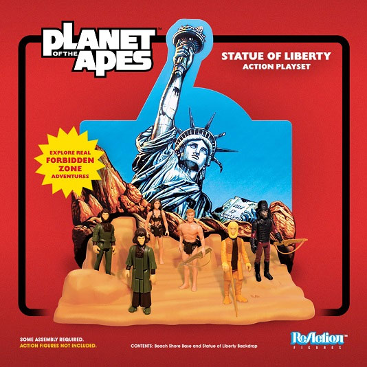 Planet of the Apes Statue of Liberty Playset for ReAction Figures