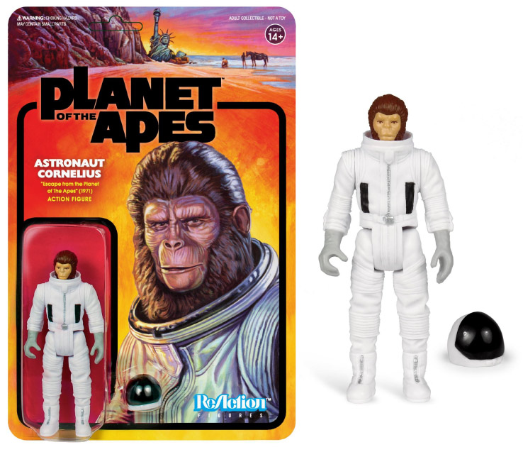 "Planet of the Apes Series 2 Astronaut Cornelius 3.75"" ReAction Action Figure"