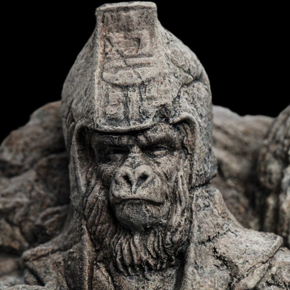 Planet of the Apes Through the Ages 50th Anniversary Statue