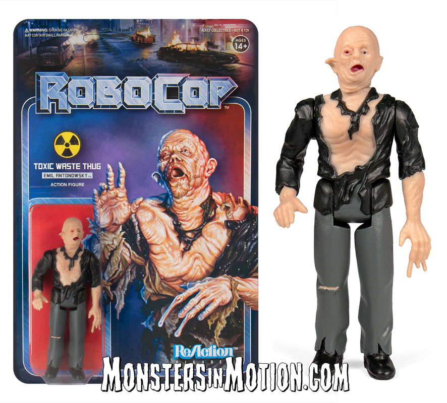 RoboCop 3 3//4-Inch ReAction Figure