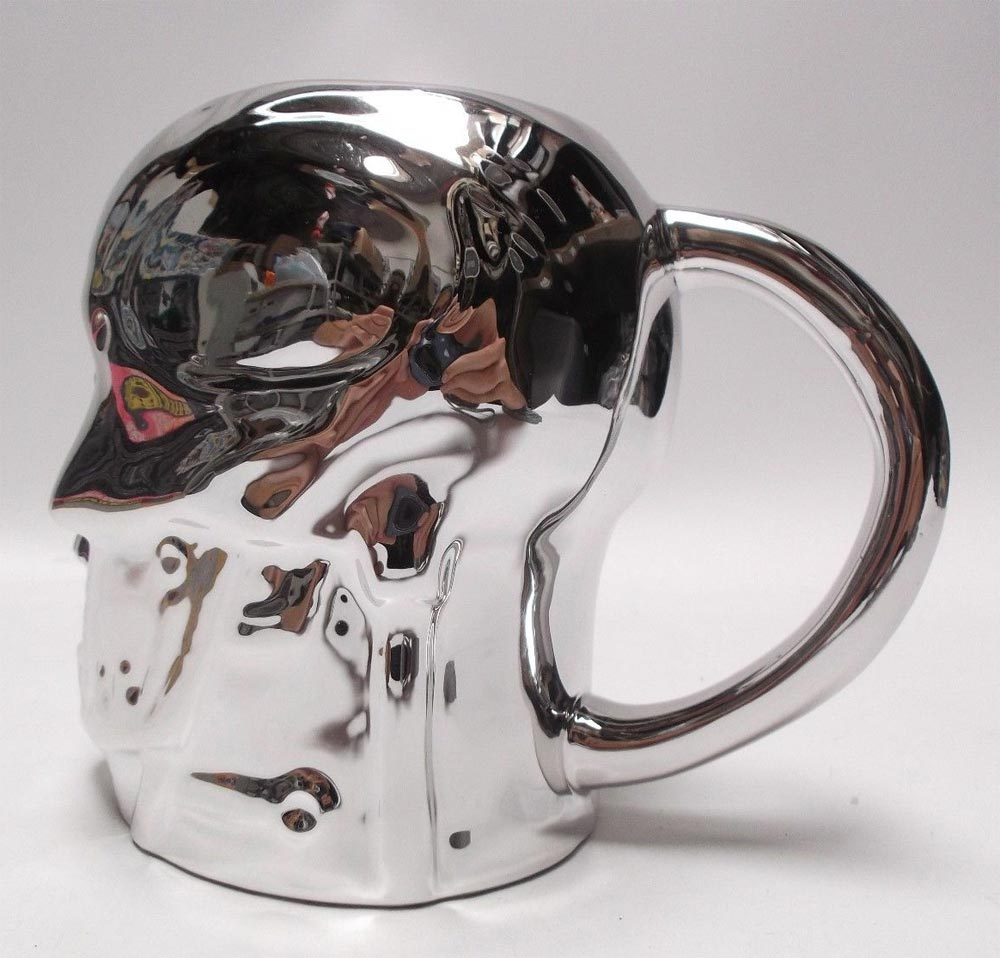 Terminator T-800 Head 20 oz. Molded Collector's Mug - Click Image to Close
