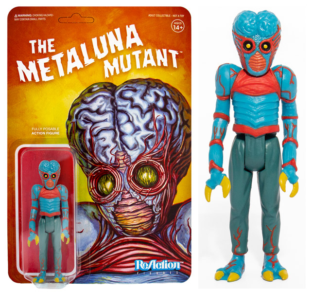 "This Island Earth Mutaluna Mutant 3.75"" ReAction Figure Universal Monsters Series"