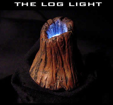 Log Light Model Base Customizing Light Kit with Log