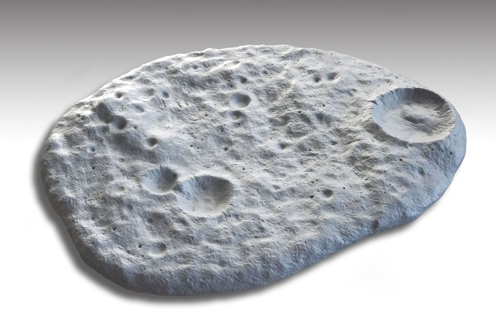 Moon Texture Base 1/144 Scale