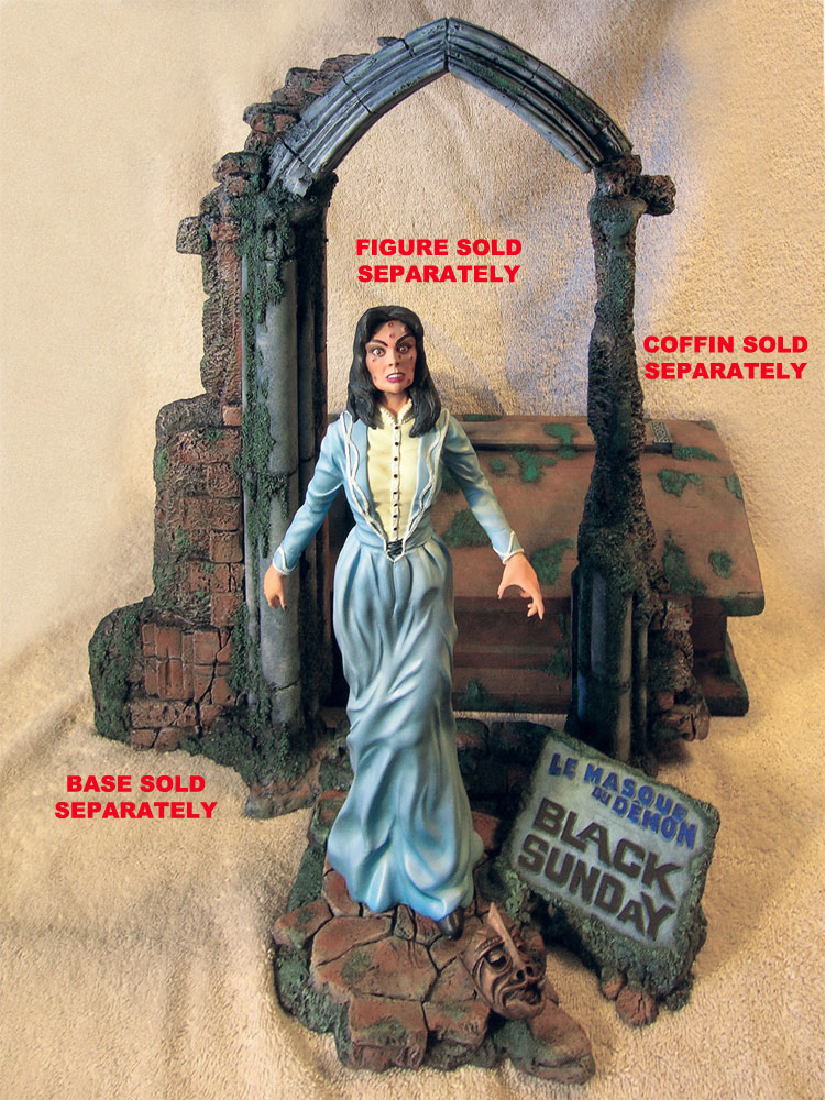 Black Sunday Gothic Base 1/6 - 1/8 Scale Model Kit