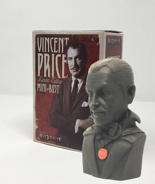 "Vincent Price 7"" Mini-Bust Limited Edition Statue"