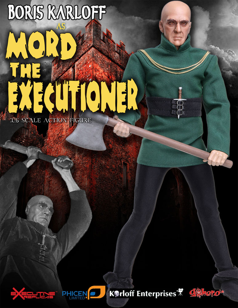 Tower of London Boris Karloff Mord the Executioner 1/6 Scale Figure