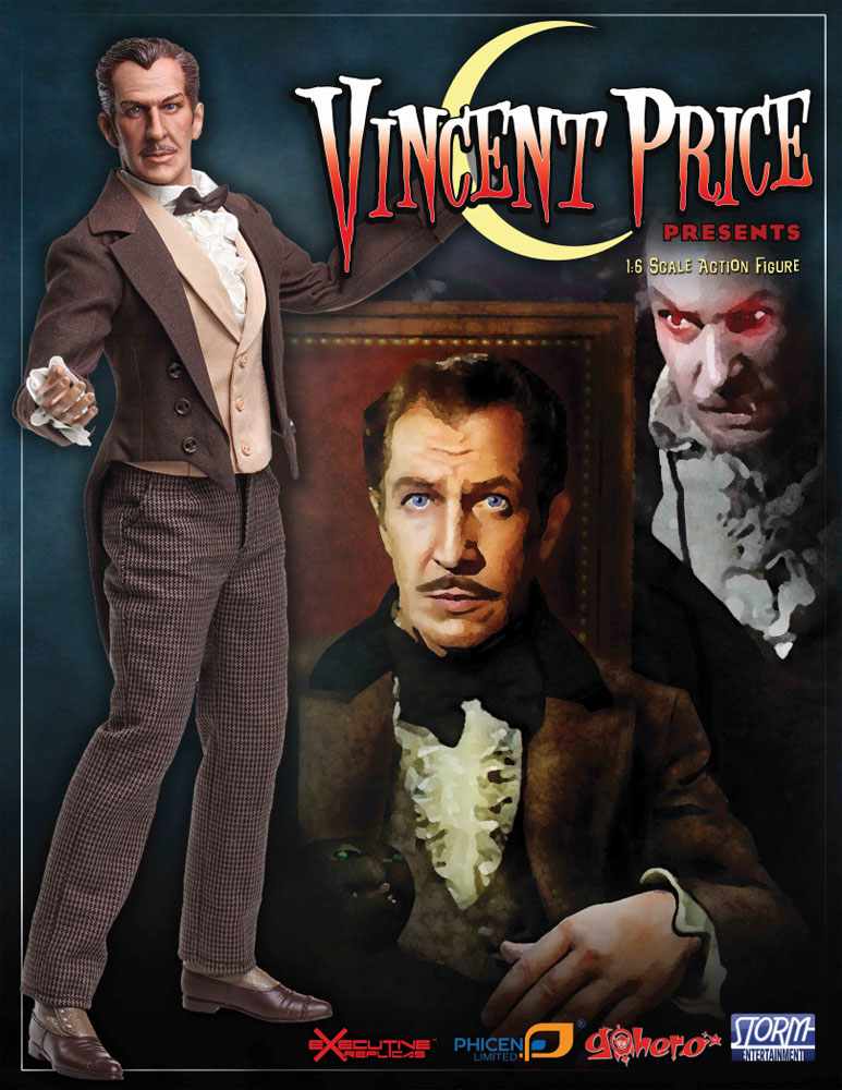 Vincent Price 1/6 Scale Collector's Figure LIMITED EDITION