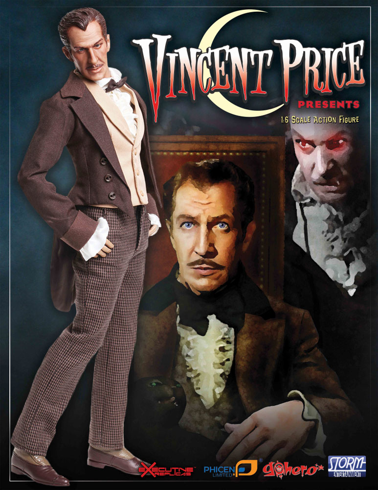 Vincent Price 1/6 Scale Collector's Figure LIMITED EDITION - Click Image to Close